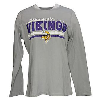 NFL Women's Printed Long Sleeve Pyjama Top Gray A387687