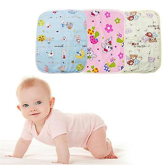 Baby Diaper Mat, Cartoon Mats, Changing Pads For Infants, Stroller Washable,