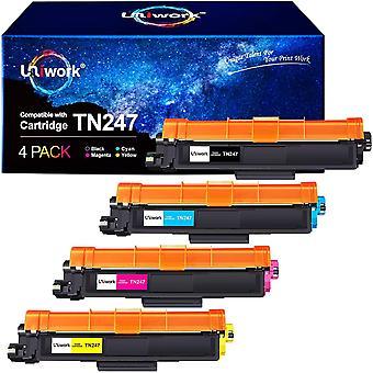 Mit Chip - Wokex Toner Wokex fr Wokex TN247 TN-247 TN-243 TN243 fr Wokex DCP-L3550CDW MFC-L3750CDW