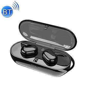 TWS 5.0 Binaural Wireless Touch Sensor Bluetooth Headset(Black)