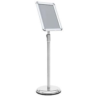 vidaXL A4 Plakat Stand Sølv Aluminium Legering