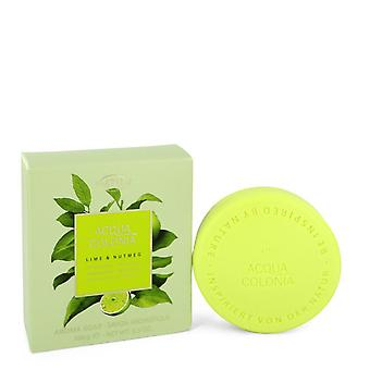 4711 Acqua Colonia Lime & Nutmeg by 4711 Soap 3.5 oz