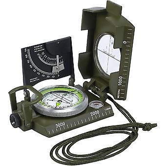 FengChun Peilkompass Navigation Kompass Militr Marschkompass Taschenkompass Klinometer