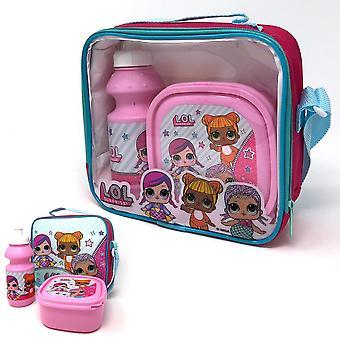 Lol Surprise Girls Lunch Bag Set (Pack Of 3)