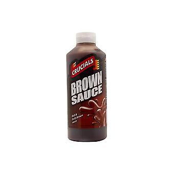 Crucials Brown Sauce 500ml