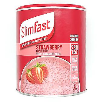 Slimfast Strawberry 292g, Meal Shake Strawberry Flavour
