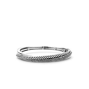 I FEEL YOU MILAN, in Sterling Silver Plated with Rhodium with 2815SB-Bracelet with Bubble Pattern