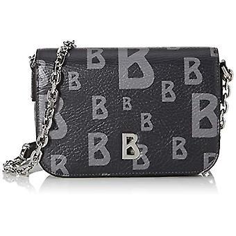 Bogner Arosa Irene - Women's crossbody bag, 5.5 x 12 x 20 cm, Grey (Darkgree),5.5x12x20 cm (B x H x T)