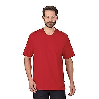 Trigema Trigema Herren Women's T-Shirt-T-shirt, Rot (kirsch 036), X-Small