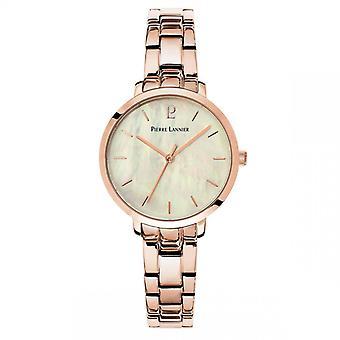 Reloj para mujer Pierre Lannier Relojes 055M999 - Pulsera de acero oro rosa