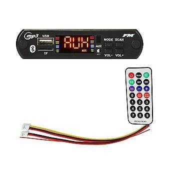 Wireless Bluetooth Decoder Board Module Mp3 Wma Wav Aux 3.5mm Car Audio Mp3