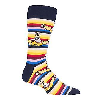 Mens official licensed rock band the beatles socks