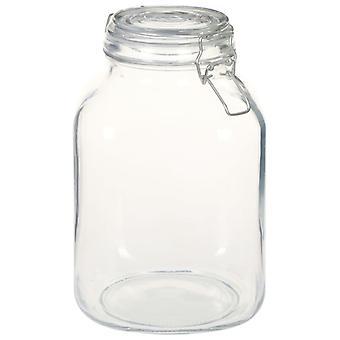 vidaXL mason jars with bracket 12 pcs. 3 L
