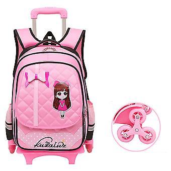 عربة مدرسة حقيبة فتاة للماء فتاة للانفصال حقيبة الأطفال