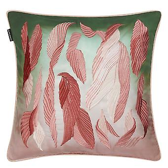 Christian Lacroix Cascade Feather Cushion In Bourgeon