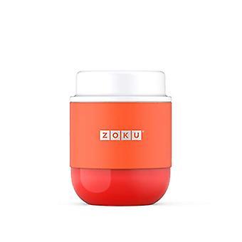 Zoku Zoku 10oz Food Jar  Orange