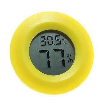 Digitaalinen pyöreä lcd matelija lämpömittari hygrometri
