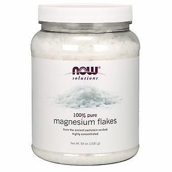 Nyt Elintarvikkeet Magnesiumhiutaleet, 54 Oz