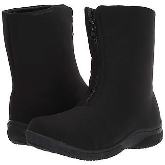 Propet Women's Madi Mid Zip Snow Boot, Black, 8H Narrow US