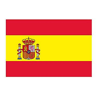 Klistermärken Flagga Spanien (1 ud)