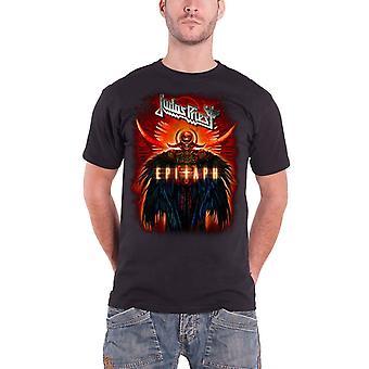 Judas Priest T Shirt Black Epitaph Jumbo band logo Official Mens new