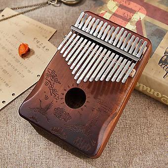 Kalimba 17 key mahogany kalimba thumb piano africa musical instrument finger piano