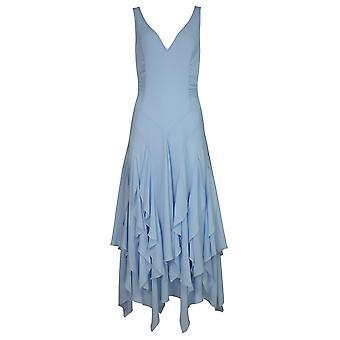 Chic Star 70s Swing Dance Dress In Blue