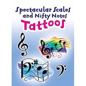 Spektakuläre Tonleitern und nifty Notes Tattoos von Dover