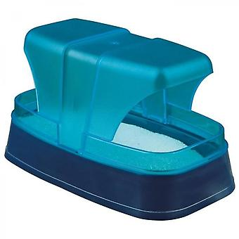 Trixie Sandbox For Hamsters And Mice 17  10  10 Cm Dark Blue / Turquoise