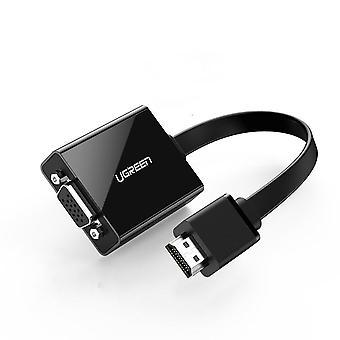 Adaptor HDMI la VGA pentru convertor PS4 Male To Famale 1080P VGA la adaptor HDMI cu mufă 3.5 pentru TV