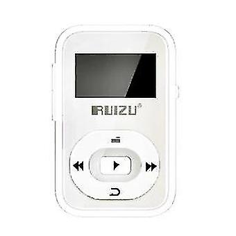 الرياضة بلوتوث MP3 مشغل الموسيقى (أبيض)