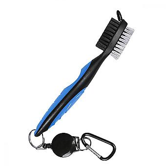 Golf Club Cleaner, Groove Cleaner Brush Brushes With Retractable Clip, Can Be Easily Installed On Golf Bags For Golf Club Headred)