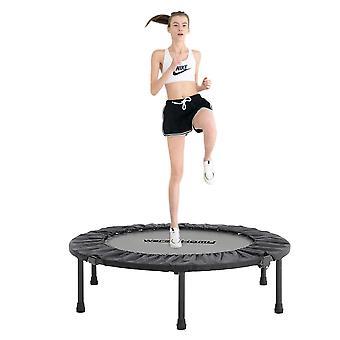 Mini Faltbare Trampoline Runde Abdeckung Rebounder Pad Gym Bungee Übung