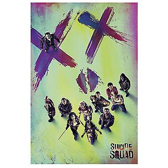 Suicide Squad Official Face Poster