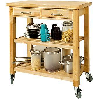 SoBuy FKW24-N, carro de almacenamiento de cocina con cajones y estantes