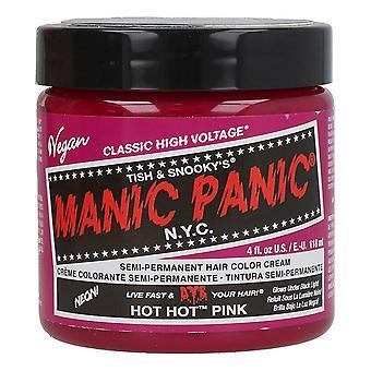 Permanent färgämne klassisk manisk panik varm varmrosa (118 ml)