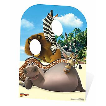 Madagascar Child Size Cardboard Cutout / Standee Stand In