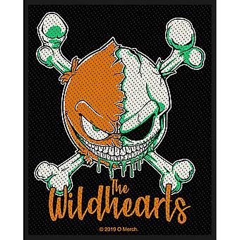 The Wildhearts - Green Skull Standard Patch