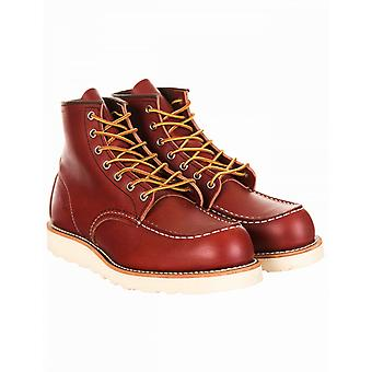 """Red Wing 8131 Heritage Work 6"""" Moc Toe Boot - Oro-russet Portage"""