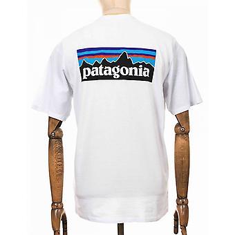 Patagonia P-6 Logo Responsibili Tee - Vit