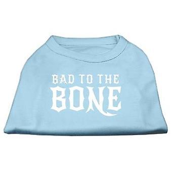 Dog apparel 51-128 xxlbbl bad to the bone dog shirt baby blue xxl - 18