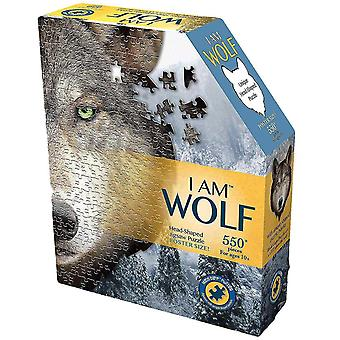 """Jigsaw puzzles """"i am wolf"""" puzzle 550 piece"""
