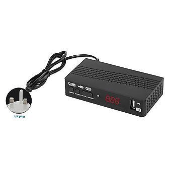 Slimme ontvanger h.265 dvb-t2 usb2.0 wifi set top digitale converter tuner spel home cinema pvr epg