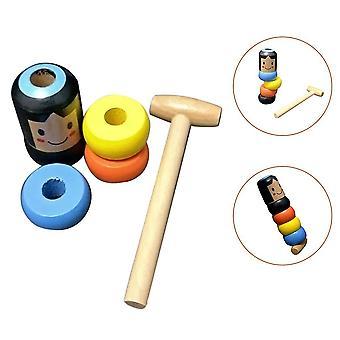 Onbreekbare houten man onsterfelijk Daruma magic toy