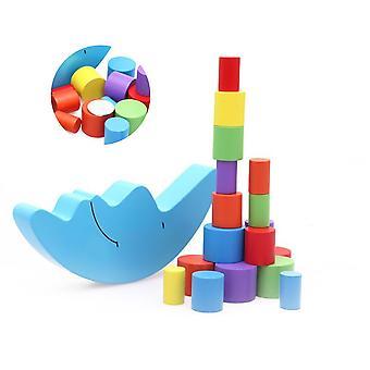 Blocs de construction en bois, blocs de construction éducatifs, jouets éducatifs