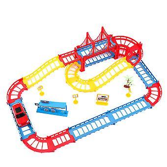 45 Interschimbabile Track Racing jucărie Track Puzzle-uri auto