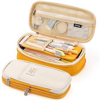 Big Capacity Pencil Pen Case Office College School Large Storage High Capacity Bag Pouch Holder Box Organisateur