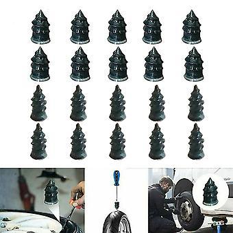 10/20pcs Tubeless Vakuum Dekk Reparasjon Gummi Spiker For Bil Motorsykkel