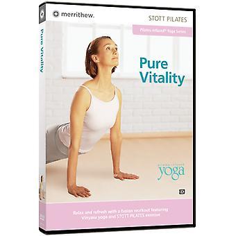 Stott Pilates: Pure Vitality [DVD] USA import