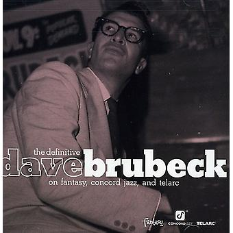 Dave Brubeck - Difinitive Dave Brubeck on Fantasy [CD] USA import